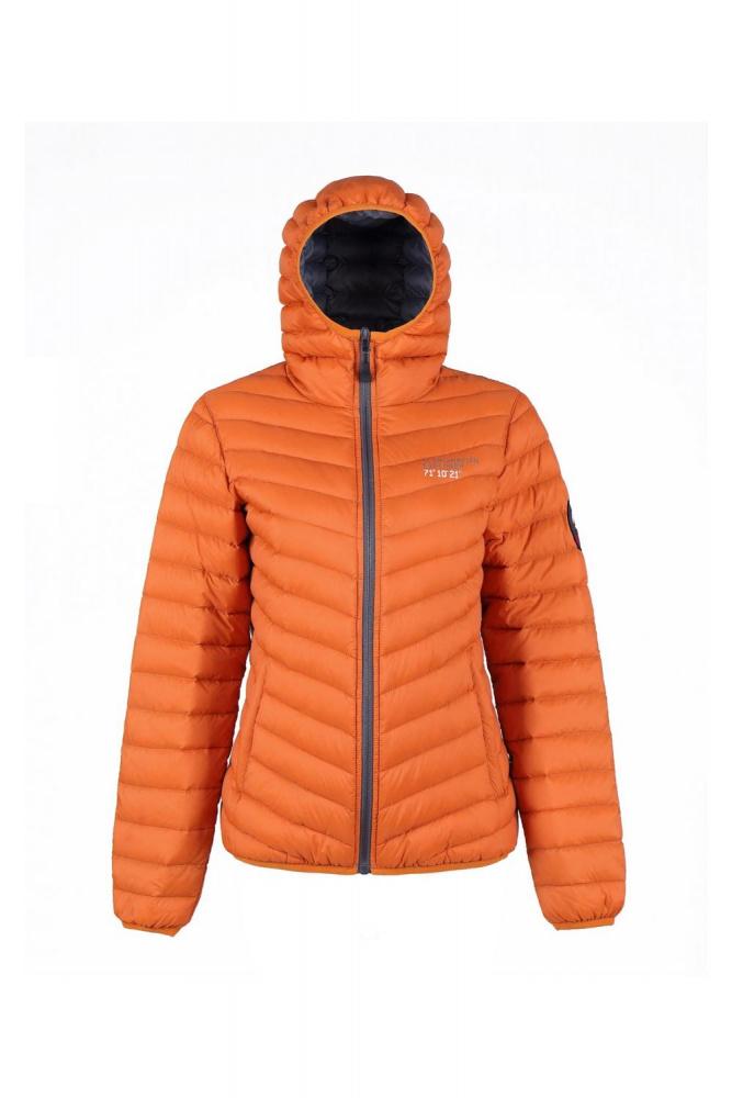 Scandinavian Explorer Lett Dunjakke Oransje Turbukse No